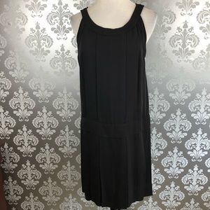 Marc By Marc Jacobs Black Silk Sleeveless Dress 10